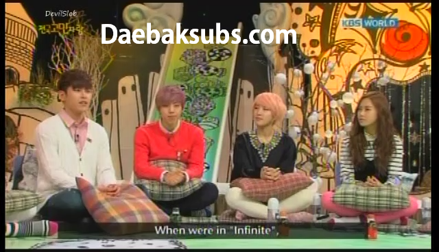ENG SUB] KBS Hello Counselor Ep 108 with INFINITE H and